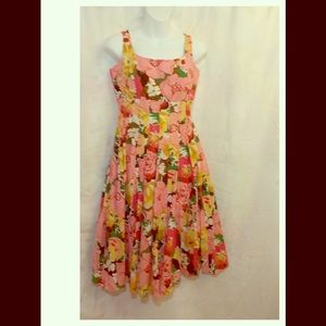 Talbots Petite Floral Pattern Dress. Cute!